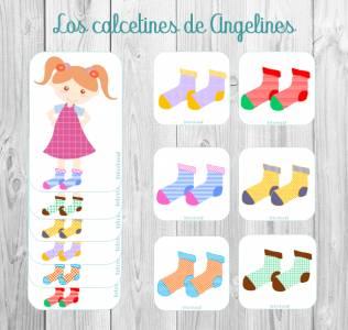 Los calcetines de Angelines