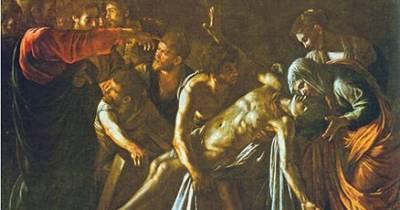 COSAS DE HISTORIA Y ARTE: La resurrección de Lázaro, Los Martes de Caravaggio