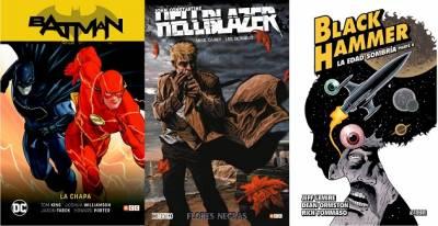 Batman/flash: La Chapa, Hellblazer: Flores Negras Y Black Hammer: La Edad Sombría (Parte 2)