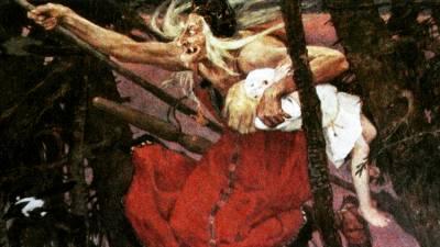 Baba Yagá, el mito de la bruja rusa