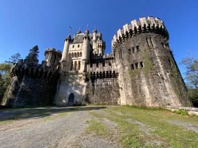 El castillo neogótico de Butrón