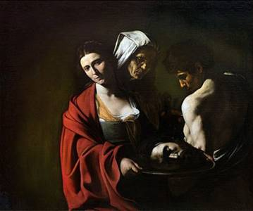 COSAS DE HISTORIA Y ARTE: Salomé con la cabeza del Bautista, Los Martes de Caravaggio