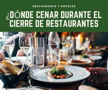 ¿Dónde cenar durante el cierre de restaurantes en Cataluña?
