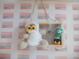 Mummy y Bob en halloween