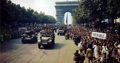 La Nueve en la liberación de París