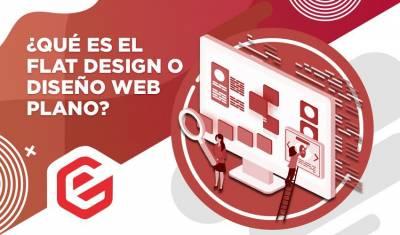 ¿Qué es el Flat Design o diseño web plano y cómo se usa?