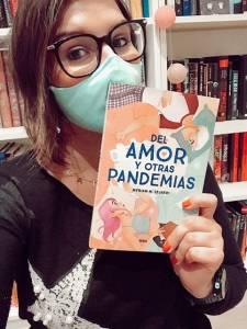 Reseña: Del amor y otras pandemias de Myriam M. Lejardi