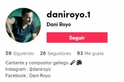 Dani Royo ya está en Tik Tok