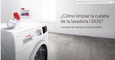 Iris Assistance - Consejos para limpiar una lavadora