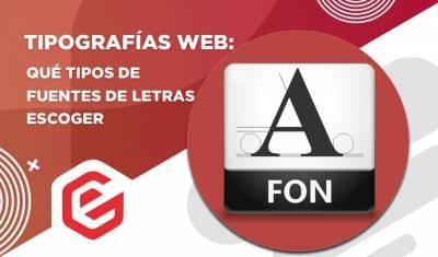 ️ Tipografías para web: Qué tipos de fuentes de letras escoger
