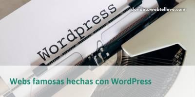 49 Webs Famosas hechas con WordPress