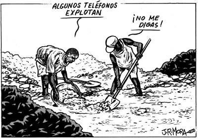Cartoons for Change contra el trabajo infantil. Exposición en el muro de Berlín