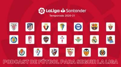 Podcast sobre fútbol para seguir la liga 2020-2021   #LunesPodcastero