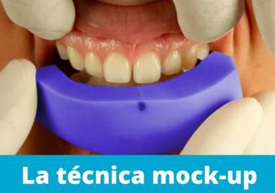 ¿Qué es la técnica mock-up?