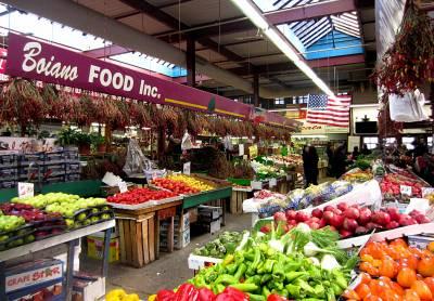 Visitar mercados y la gentrificación