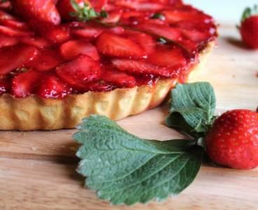 Mis Recetas de cocina y trucos: Tarta de chocolate blanco y fresas