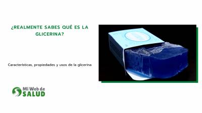 ¿realmente Sabes Qué Es La Glicerina?