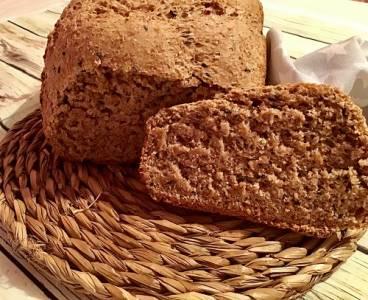 Receta de pan integral con sésamo negro