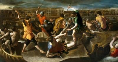 Las naumaquias en la antigua Roma