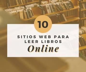 10 Sitios Web para Leer Libros Online