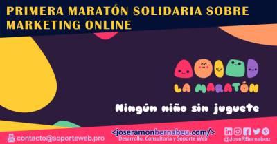 Profesionales del mundo digital se unen en una maratón solidaria sobre marketing online