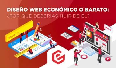 ️ Diseño web económico o barato: ¿Por qué deberías HUIR de él?