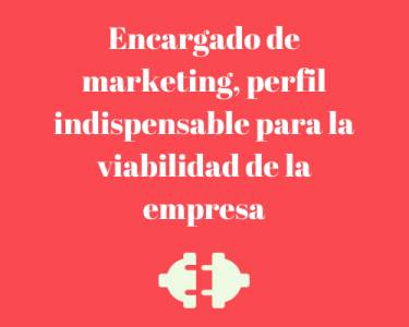 Encargado de marketing, perfil indispensable para la viabilidad de la empresa