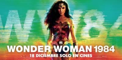 WONDER WOMAN 1984 en formato 3D-4DX (crítica sin spoilers)