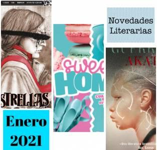 Novedades Literarias ENERO 2021