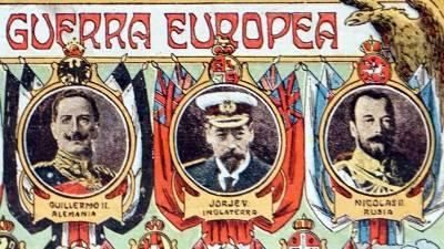 Tres Emperadores, Tres Primos Y La Iª Guerra Mundial