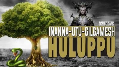 El árbol Huluppu: Inanna, Utu y el rey Gilgamesh
