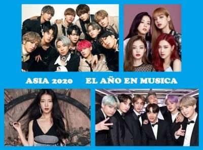 Asia 2020: El Año en Música