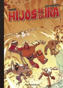 Reseña de Hijos de la Ira, un cómic de guerra protagonizado por mechas