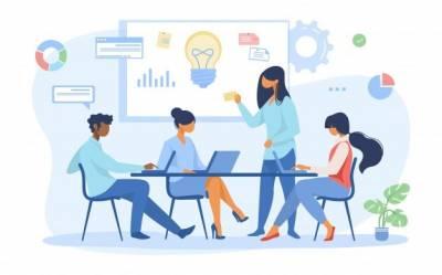 Crear el lienzo de modelo de negocio para tu startup en 2021 | Diseñador Web Pedro De la nube