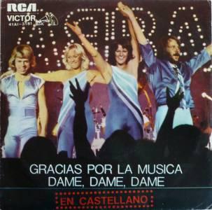 Grandes Canciones 5 – Gracias por la música – ABBA (1980)