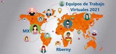Equipos de Trabajo Virtuales 2021 - Rberny