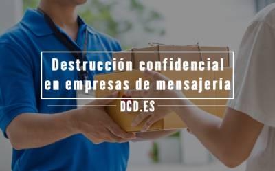 Destrucción confidencial en empresas de mensajería