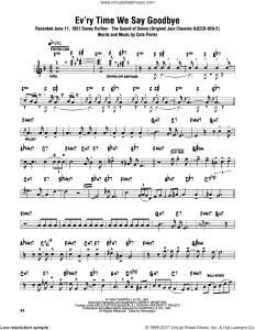"Benny Goodman / Ella Fitzgerald / John Coltrane. ""Ev'ry Time We Say Goodbye"""
