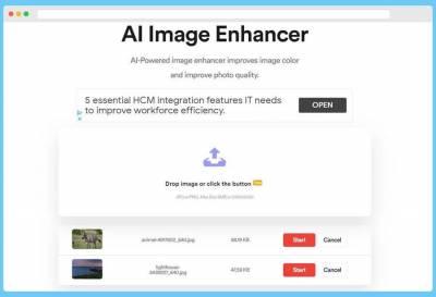 AI Image Enhancer: mejora tus fotos de forma automática y gratuita