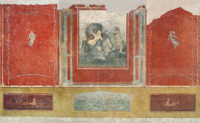 Pinacotheca, las pinturas de la domus en la antigua Roma