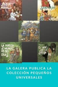 La Galera publica la colección Pequeños Universales - Munduky