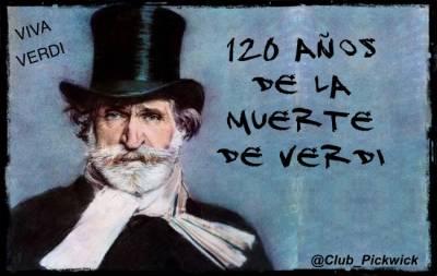 120 años de la muerte de Verdi