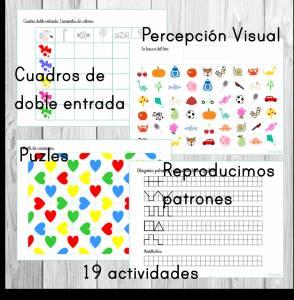 Cuaderno de retos cognitivos de 3 a 6 años