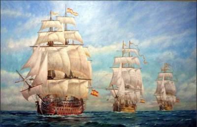 Cosas De Historia Y Arte: Real Armada Española-Nacimiento