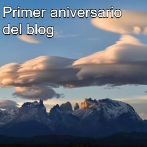Primer aniversario del blog
