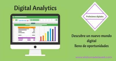 Profesiones digitales: Digital Analytics