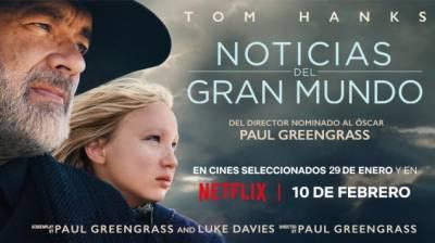 Noticias Del Gran Mundo Con Tom Hanks (Crítica Sin Spoilers)