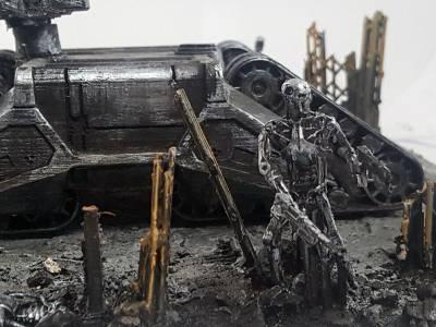 Blog del modelista. Diorama Terminator el dia del juicio - MaqueToys
