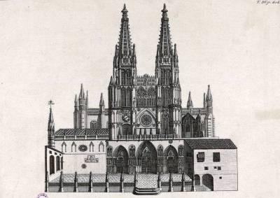 Puertas y Portadas de la Catedral de Burgos (I): Portada de Santamaría