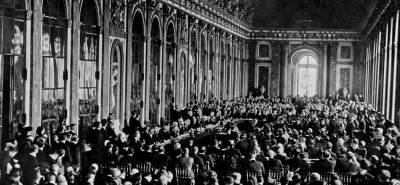 El Tratado De Versalles 1919